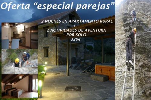Oferta alojamiento + Aventura