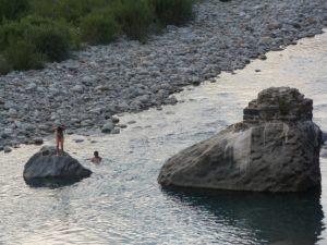 Ríos del Pirineo, lugares para bañarse en el Pirineo