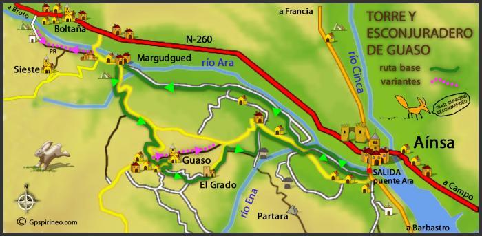 Rutas BTT PIRINEO – ZZ-001 Torre y Esconjuradero de Guaso