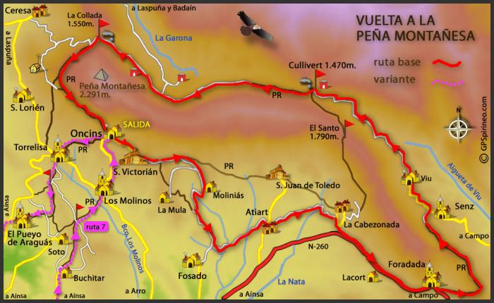 RUTAS BTT PIRINEO – ZZ-002 Vuelta a la Peña Montañesa