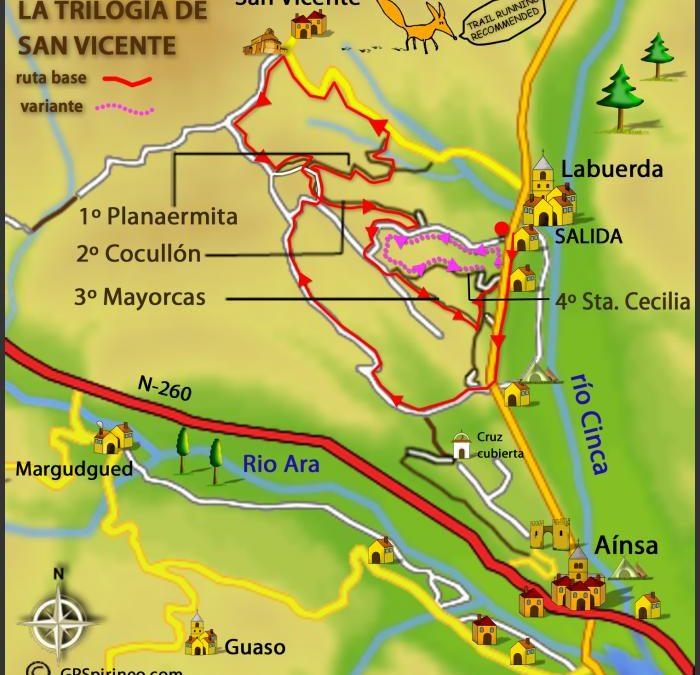 Rutas BTT PIRINEO – ZZ-006 Trilogía de San Vicente